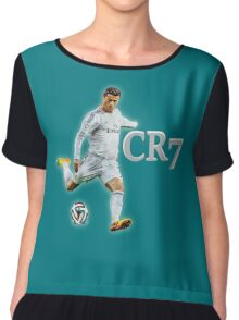 Ronaldo Real Madrid Women's Chiffon Top