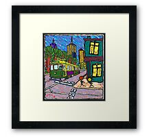 We Live in the City too Framed Print