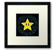 °GEEK° Mario Star Cup Framed Print