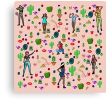 It's an arty party! Canvas Print