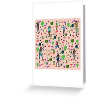 It's an arty party! Greeting Card