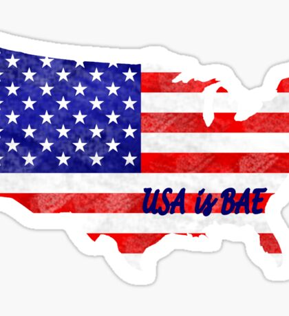 USA is Bae Sticker