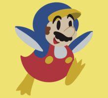 Little Penguin Mario Kids Tee