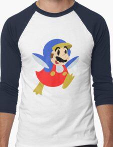 Little Penguin Mario Men's Baseball ¾ T-Shirt