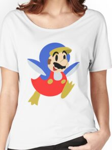 Little Penguin Mario Women's Relaxed Fit T-Shirt