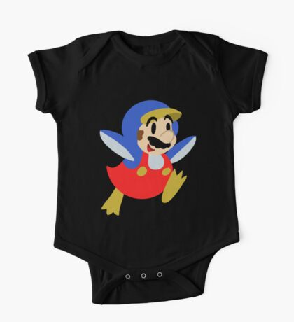 Little Penguin Mario One Piece - Short Sleeve
