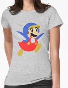 Little Penguin Mario Womens Fitted T-Shirt