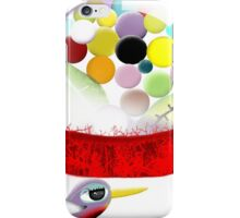 Too sweet candy bubble gum bird old style  iPhone Case/Skin