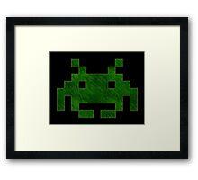 °GEEK° Space Invaders Framed Print