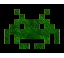 °GEEK° Space Invaders Photographic Print