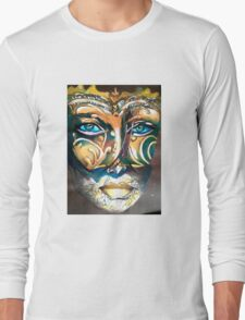 Look behind the mask Long Sleeve T-Shirt