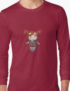 Fight Like a Girl | Robot Maker Long Sleeve T-Shirt