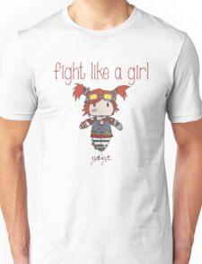 Fight Like a Girl | Robot Maker Unisex T-Shirt