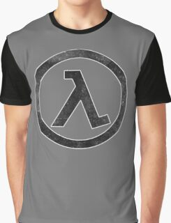 °GEEK° Half Life B&W Graphic T-Shirt