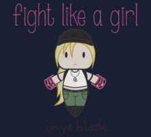 Fight Like a Girl - General One Piece - Short Sleeve