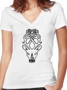 Falkreath Women's Fitted V-Neck T-Shirt