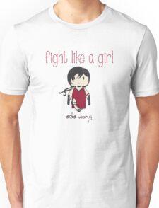 Fight Like a Girl - Zombie Killer Ninja Unisex T-Shirt