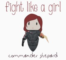 Fight Like a Girl - The Commander One Piece - Short Sleeve