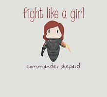 Fight Like a Girl - The Commander Unisex T-Shirt