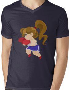 Cute Little Boxer Girl Mens V-Neck T-Shirt