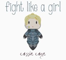 Fight Like a Girl - Daughter of Champions Kids Tee