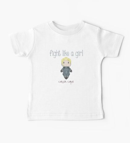 Fight Like a Girl - Daughter of Champions Baby Tee