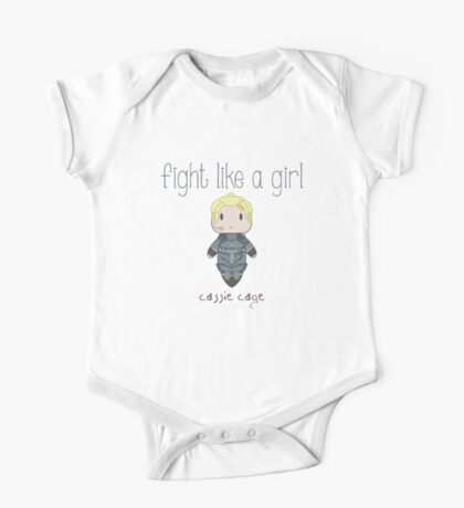 Fight Like a Girl - Daughter of Champions One Piece - Short Sleeve