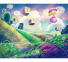 Princess Peach Landscape Photographic Print