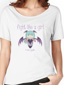 Fight Like a Girl | Demon Girl Women's Relaxed Fit T-Shirt