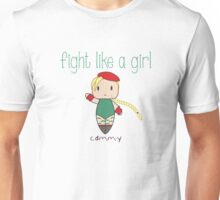 Fight Like a Girl - Fighter for the Queen Unisex T-Shirt