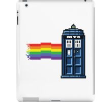 Rainbow Tardis iPad Case/Skin