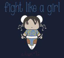 Fight Like a Girl - Interpol Agent Kids Tee