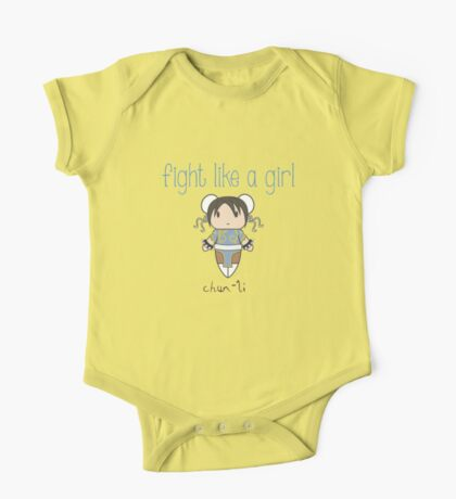 Fight Like a Girl - Interpol Agent One Piece - Short Sleeve