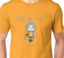 Fight Like a Girl | Tattoo Girl Unisex T-Shirt