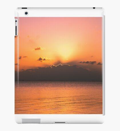 Sunset from Koh Phangan  iPad Case/Skin