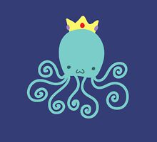 Princess Octopus Womens Fitted T-Shirt