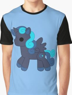Midnight alicorn Graphic T-Shirt