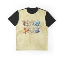 Golden Sun Djinn Graphic T-Shirt