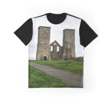 The road to Reculver Graphic T-Shirt