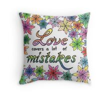 LOVE TO COLOR? Throw Pillow