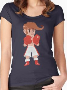 Little Glass Joe Women's Fitted Scoop T-Shirt