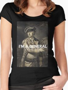 He promoted Charles Lee? Women's Fitted Scoop T-Shirt