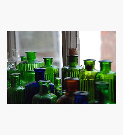 Ten Green Bottles...and some others Photographic Print