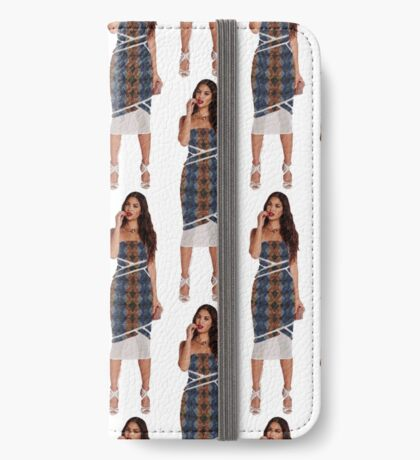 Four times the Girl  iPhone Wallet/Case/Skin
