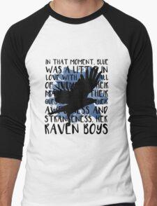 Her Raven Boys Men's Baseball ¾ T-Shirt