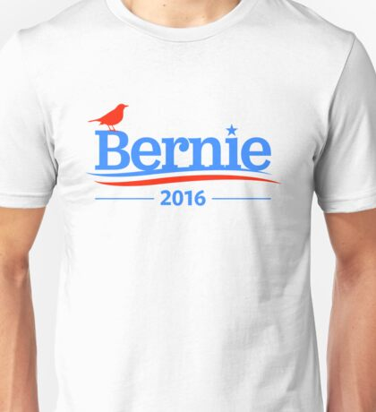 Bernie Sanders Bird Shirt - President 2016 Peace Feel the Bern  Unisex T-Shirt