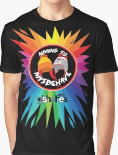 Aiming To Misbehave - 3 Graphic T-Shirt