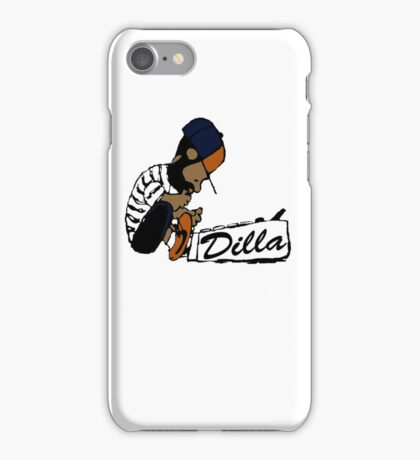 J Dilla - Today In Hip Hop History iPhone Case/Skin