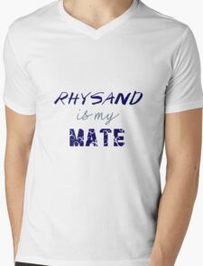 Rhysand is my mate - ACOMAF. Mens V-Neck T-Shirt