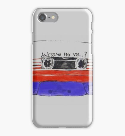 Awesome Mix Tape iPhone Case/Skin